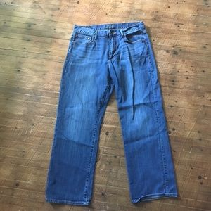Lucky Brand 181 relaxed straight 34x30 jeans